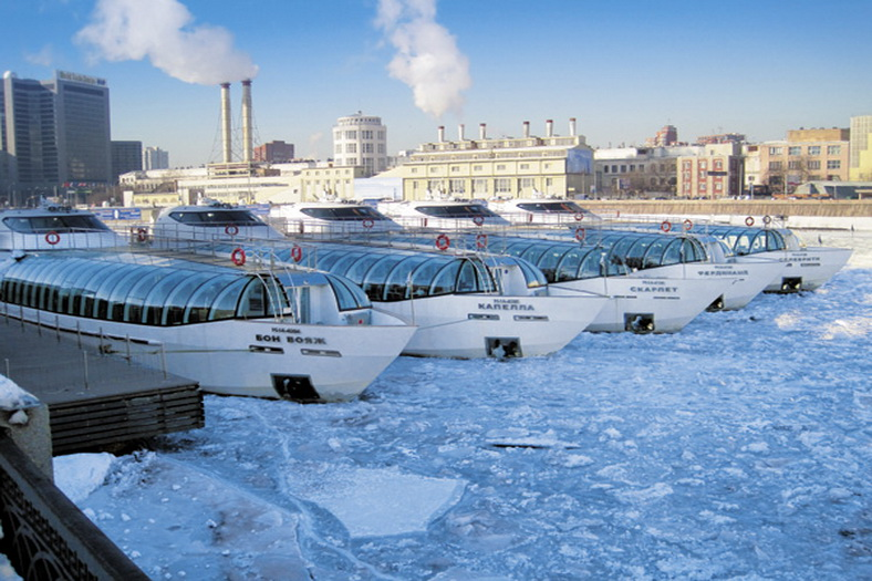 : Winter navigation on the Moskva River has begun, Фото 2