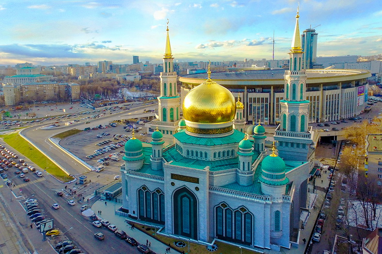 : Moscow Cathedral Mosque, Фото 1