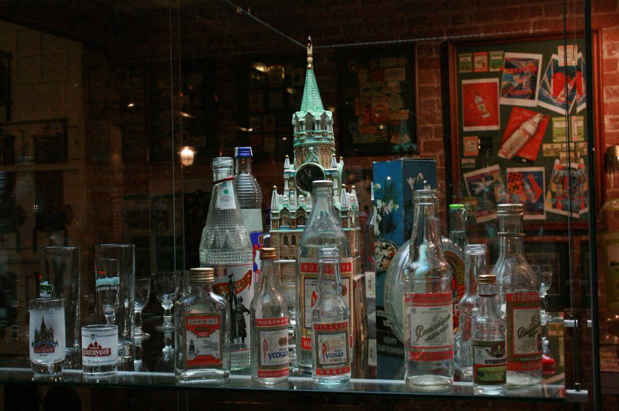 : The vodka history Museum in Moscow, Фото 2
