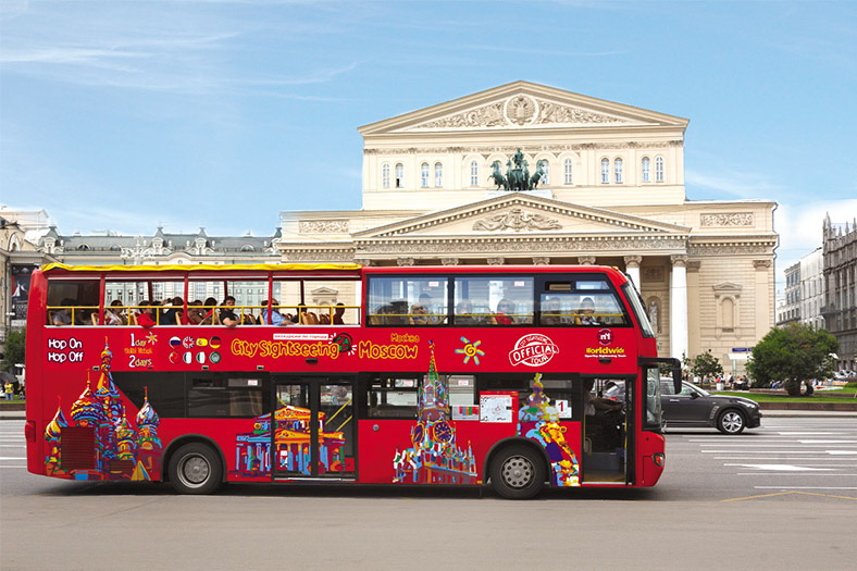 : Bus tour of Moscow | Sightseeing tour on a double-Decker bus | City Map of Moscow Pass, Фото 3