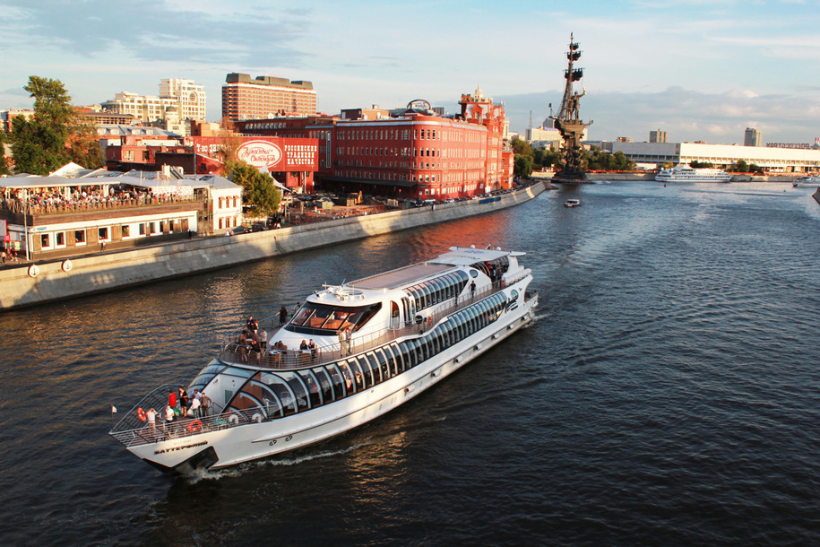 : Moscow walks-recreational boat Radisson | Map the Moscow city pass, Фото 9