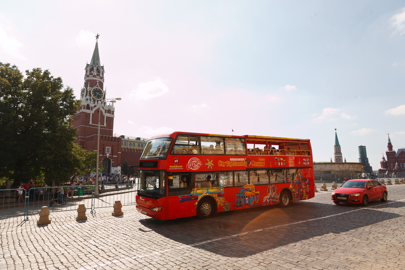 : Bus tour of Moscow | Sightseeing tour on a double-Decker bus | Moscow CityPass card, Фото 1