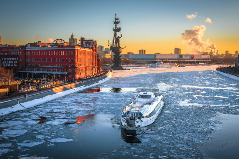 : Moscow walks-recreational boat Radisson | Map the Moscow city pass, Фото 3