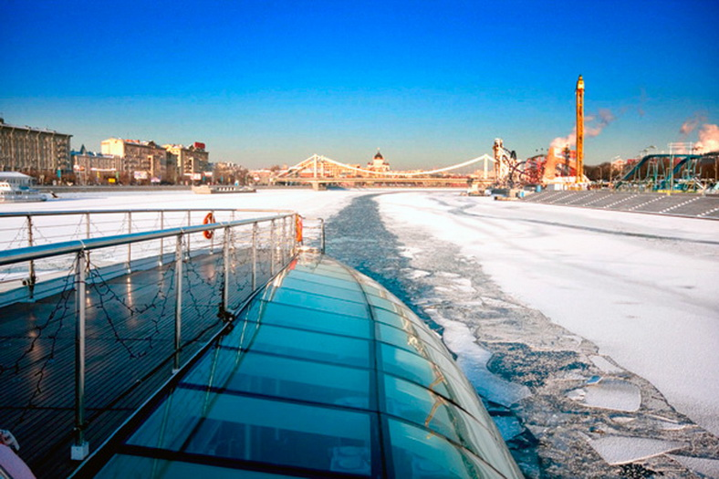 : Winter navigation on the Moskva River has begun, Фото 3