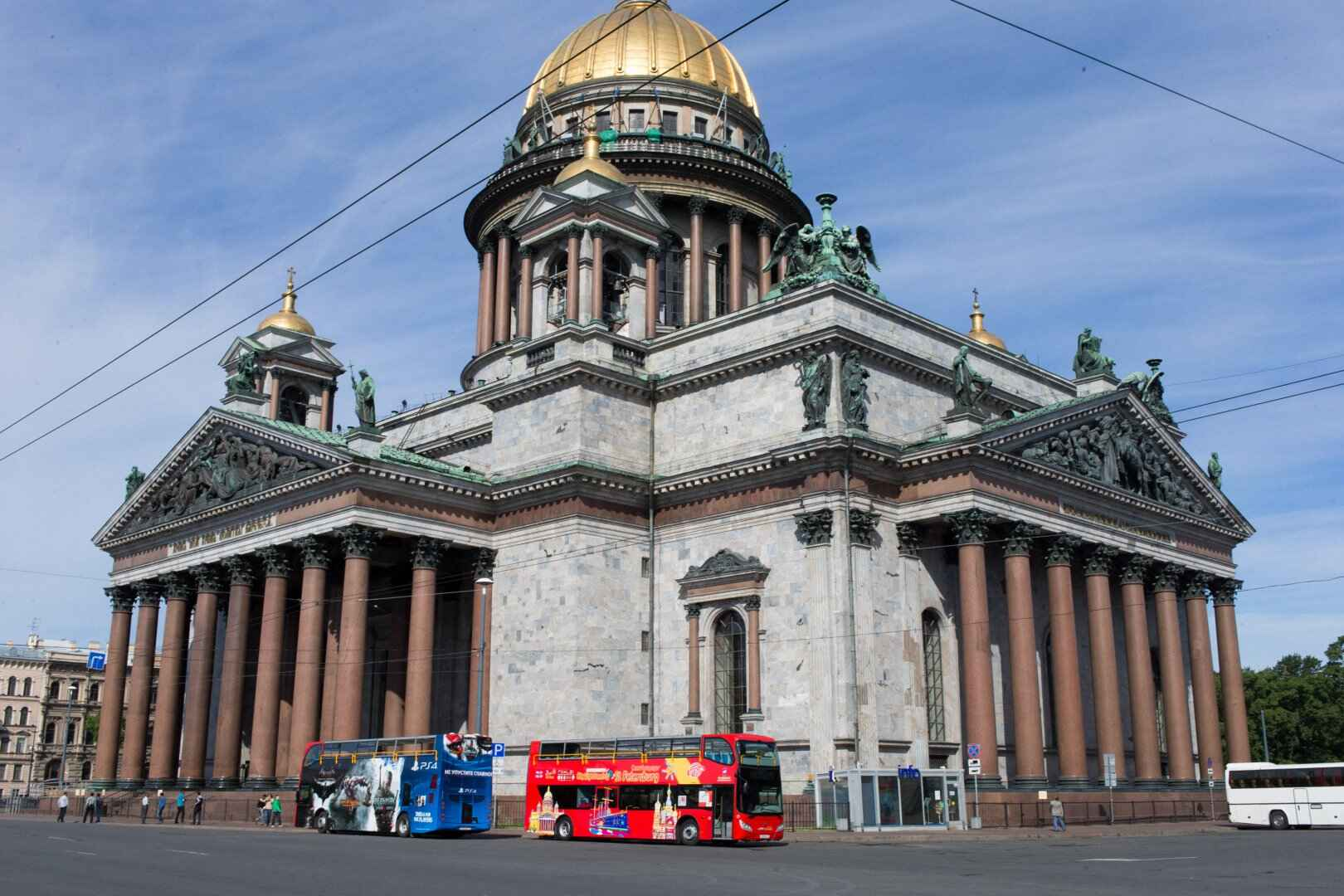: Sightseeing tour across St. Petersburg by bus | Buses City Sightseeing | Map St. Petersburg City Pass, Фото 2