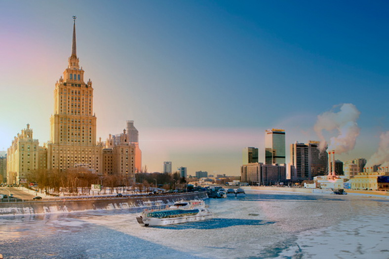 : Winter navigation on the Moskva River has begun, Фото 1