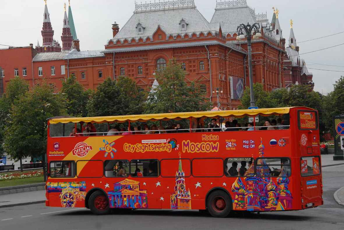 : Bus tour of Moscow | Sightseeing tour on a double-Decker bus | City Map of Moscow Pass, Фото 2