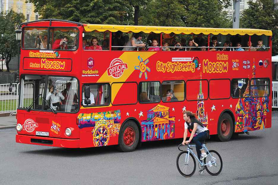 : Bus tour of Moscow | Sightseeing tour on a double-Decker bus | City Map of Moscow Pass, Фото 5