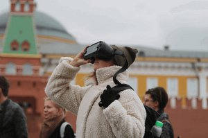 "City tour with the Virtual Reality ""Moscow has never been built"""