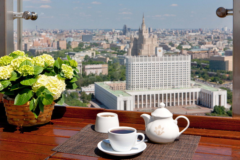 : Observation Deck of the Ukraine Hotel, Фото 1