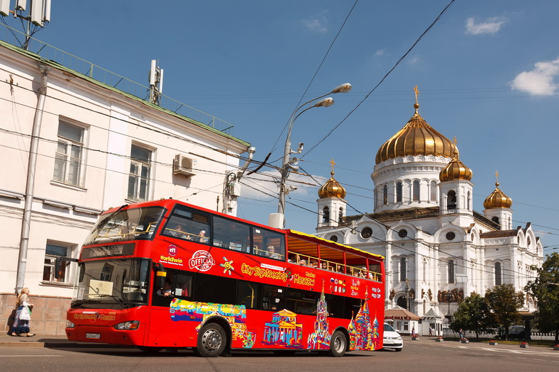 : Bus tour of Moscow | Sightseeing tour on a double-Decker bus | Moscow CityPass card, Фото 3