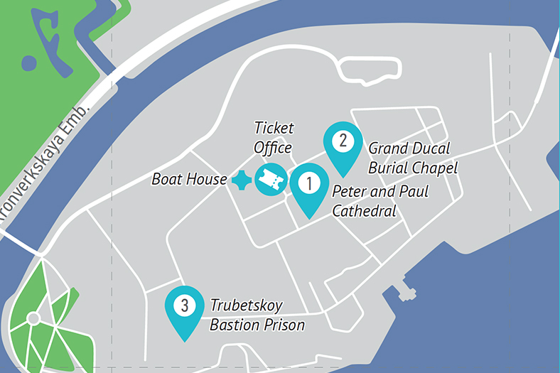 : Trubetskoy Bastion Prison (Peter and Paul Fortress), Фото 1