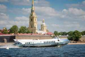 HIGH-SPEED HYDROFOILS TO PETERHOF