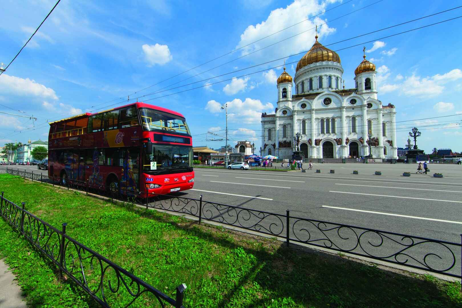 : Bus tour of Moscow | Sightseeing tour on a double-Decker bus | City Map of Moscow Pass, Фото 1