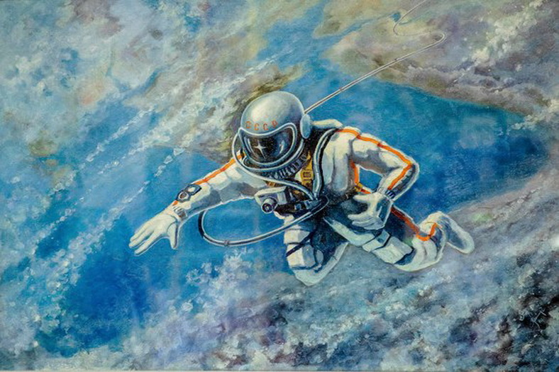 : New Exhibition Opening: The painting of one of the first cosmonauts in the world, Фото 2