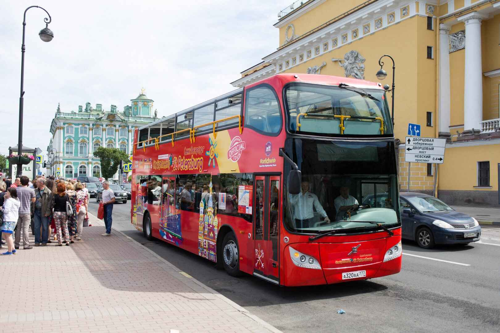 : Sightseeing tour across St. Petersburg by bus | Buses City Sightseeing | Map St. Petersburg City Pass, Фото 7