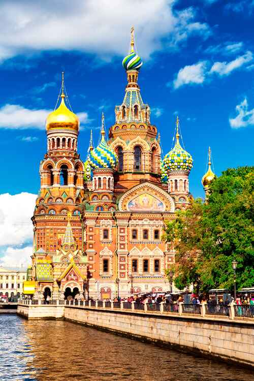 ": Temple ""Savior on spilled blood"" in St. Petersburg 